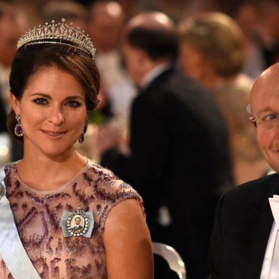 La Princesa Magdalena de Suecia en los Nobel 2014