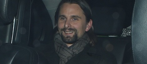 Matt bellamy se marcha de fiesta en Londres