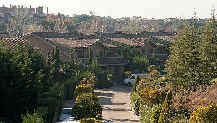 Casa de Iker Casillas y Sara Carbonero en La Finca de Pozuelo de Alarcón