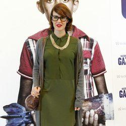 Vega en el estreno de 'Nacido en Gaza'