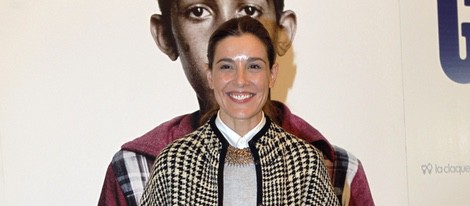 Raquel Sánchez Silva en el estreno de 'Nacido en Gaza'