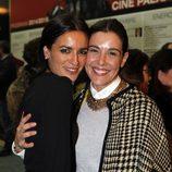 Raquel Sánchez Silva y Bebe en el estreno de 'Nacido en Gaza'