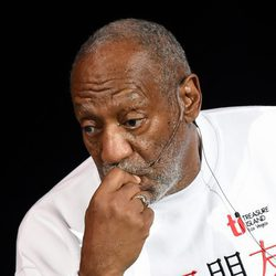 El actor Bill Cosby en el Treasure Island de Las Vegas