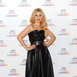 Paloma Faith en la entrega de los BBC Music Awards 2014