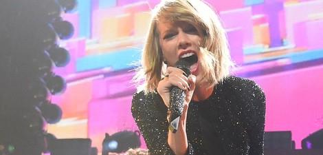 Taylor Swift en los 'KIIS FM's Jingle Ball' de Los Ángeles