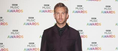 Calvin Harris en la entrega de los BBC Music Awards 2014