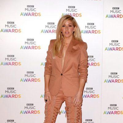 Ellie Goulding en la entrega de los BBC Music Awards 2014