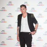 John Newman en la entrega de los BBC Music Awards 2014