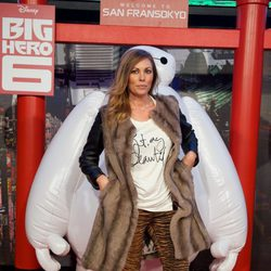 Raquel Rodríguez en el estreno de 'Big Hero 6' en Madrid