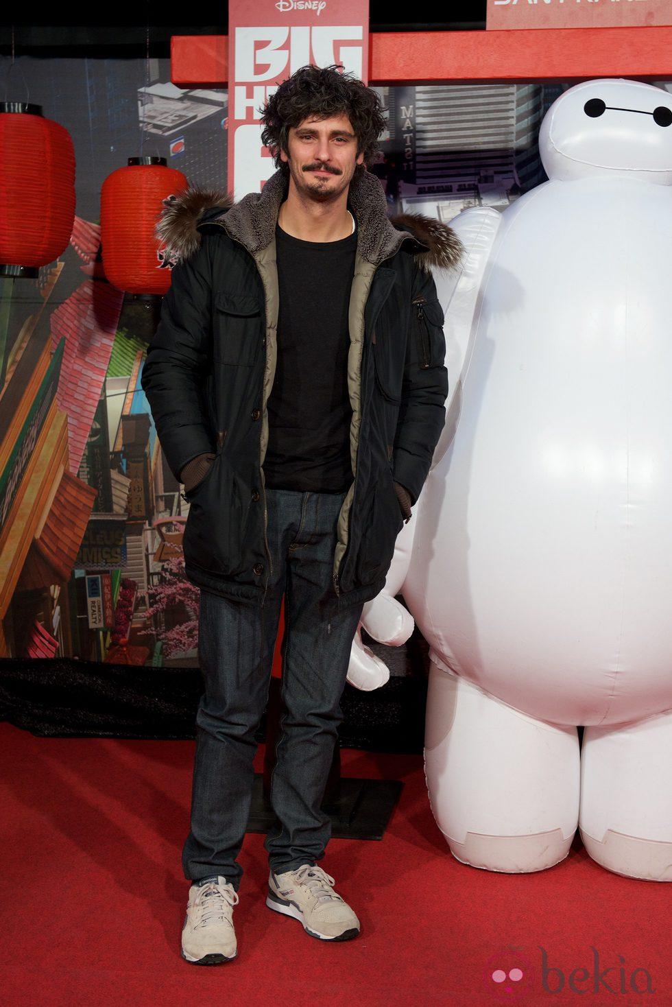 Antonio Pagudo en el estreno de 'Big Hero 6' en Madrid