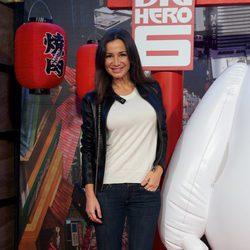 Cecilia Gómez en el estreno de 'Big Hero 6' en Madrid