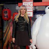 Topacio Fresh en el estreno de 'Big Hero 6' en Madrid