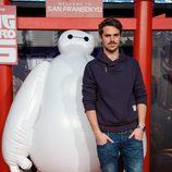 Gonzalo Ramos en el estreno de 'Big Hero 6' en Madrid
