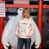 Carla Hidalgo en el estreno de 'Big Hero 6' en Madrid
