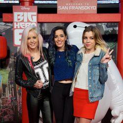 Sweet California en el estreno de 'Big Hero 6' en Madrid