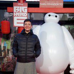 Eva Hache en el estreno de 'Big Hero 6' en Madrid
