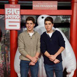 Gemeliers en el estreno de 'Big Hero 6' en Madrid