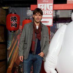 Fernando Morientes en el estreno de 'Big Hero 6' en Madrid