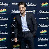 David Bustamante en los Premios 40 Principales 2014
