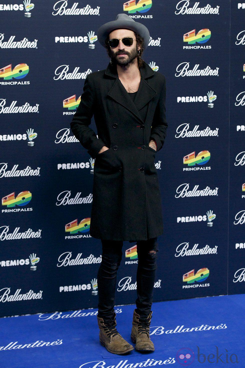 Leiva en los Premios 40 Principales 2014