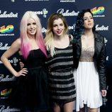 Sweet California en los Premios 40 Principales 2014