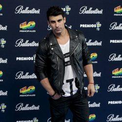 Christian Sánchez en los Premios 40 Principales 2014