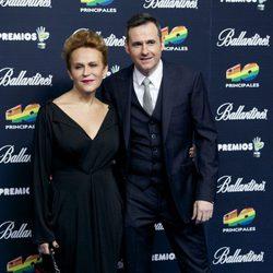 Antonia San Juan y Luis Miguel Seguí en los Premios 40 Principales 2014