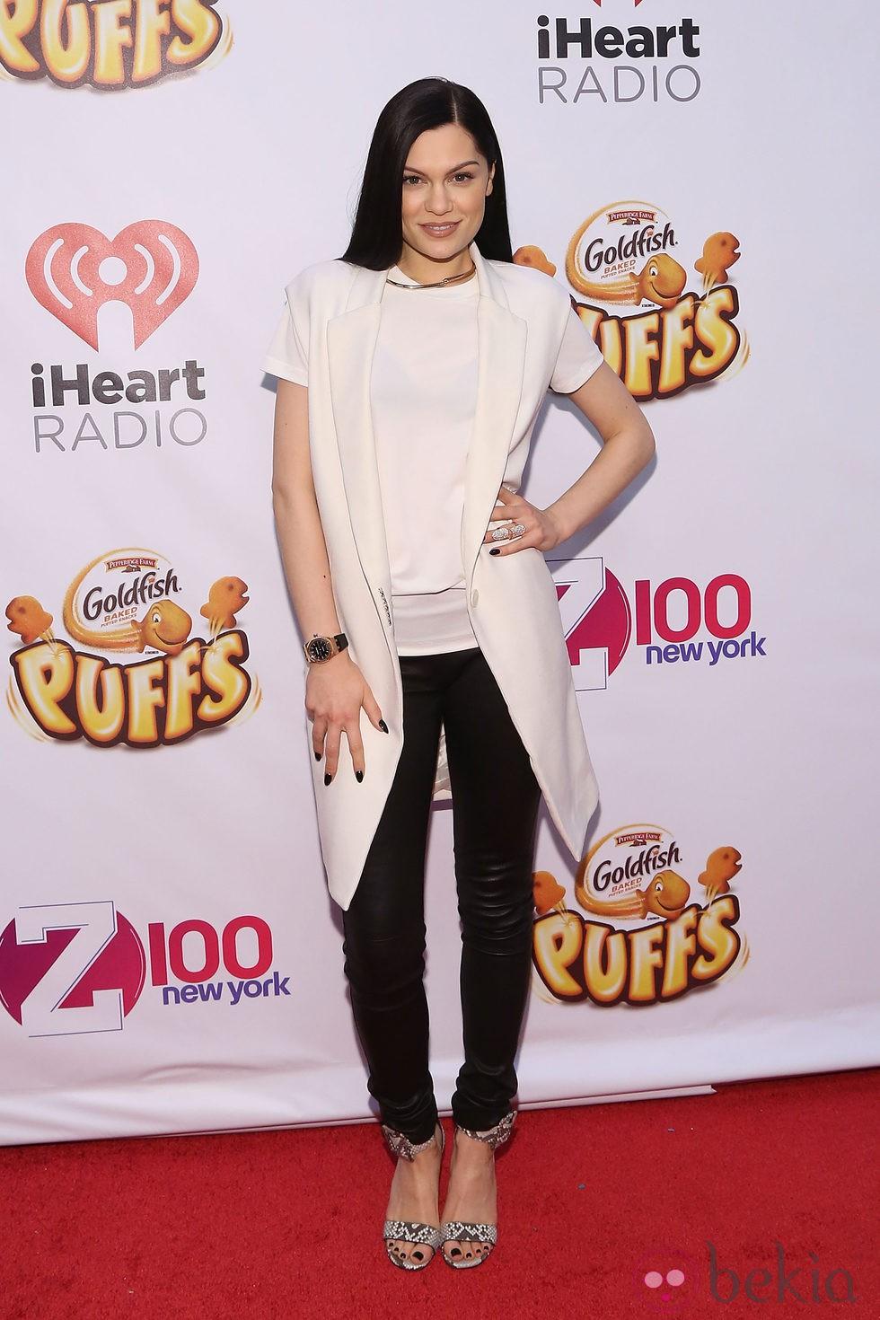 Jessie J acude al Jingle Ball 2014 en Nueva York