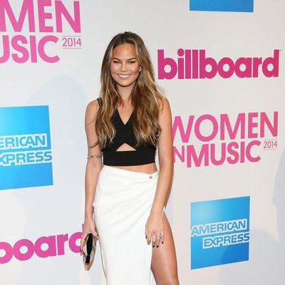 Chrissy Teigen en la gala Billboard Women in Music 2014