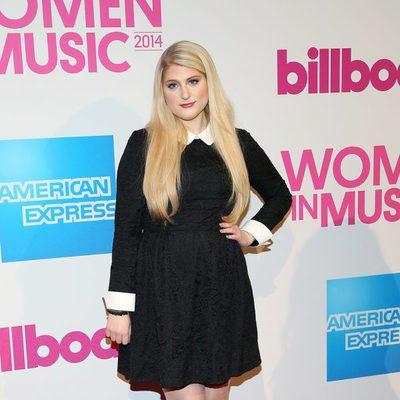 Meghan Trainor en la gala Billboard Women in Music 2014