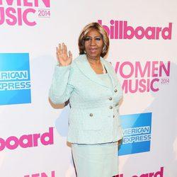 Aretha Franklin en la gala Billboard Women in Music 2014