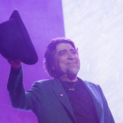 Sabina frente a su público en Madrid