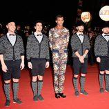 Stromae en la entrega de los premios NRJ Awards 2014 en Cannes