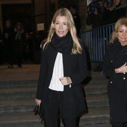 Patricia Rato en el funeral de la Duquesa de Alba en Madrid