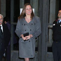 Melani Costa en el funeral de la Duquesa de Alba en Madrid