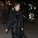 Matilde Solía en el funeral de la Duquesa de Alba en Madrid