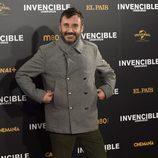 Carlos Chamarro en el estreno de 'Invencible' en Madrid