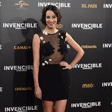 Almudena Cid en el estreno de 'Invencible' en Madrid