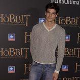 Javier de Miguel en el estreno de 'El Hobbit: La batalla de los cinco ejércitos'