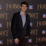Dani Muriel en el estreno de 'El Hobbit: La batalla de los cinco ejercitos'