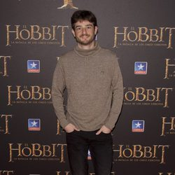 Gorka Otxoa en el estreno de 'El Hobbit: La batalla de los cinco ejercitos'