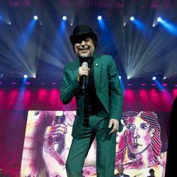 Joaquín Sabina en su primer concierto tras sufrir pánico escénico