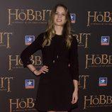 Arancha Martí en el estreno de 'El Hobbit: La batalla de los cinco ejércitos'