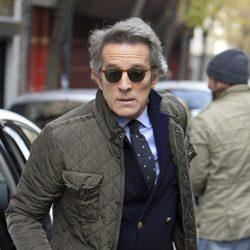 Alfonso Díez retoma su vida en Madrid tras el funeral de la Duquesa de Alba
