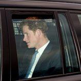 El Príncipe Harry en un almuerzo prenavideño en Buckingham Palace