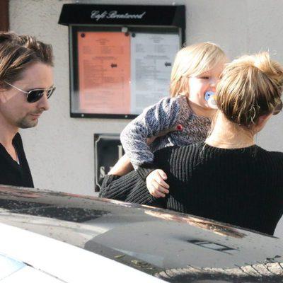 Kate Hudson y Matt Bellamy pasan juntos un día familiar tras separarse