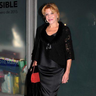 La Baronesa Thyssen en la fiesta del 40 cumpleaños de Blanca Cuesta