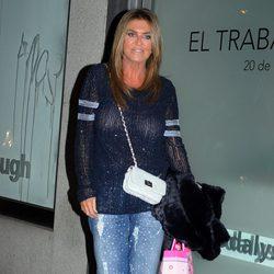 Susana Uribarri en la fiesta del 40 cumpleaños de Blanca Cuesta