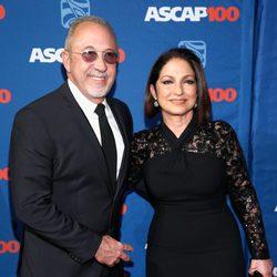 Emilio y Gloria Estefan en los premios ASCAP 2014 de Nueva York