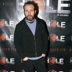Antonio Molero en el estreno de Anabel Alonso como maestra de ceremonias de 'The Hole'